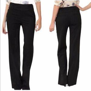 ELEVENSES ANTHRO Tuxedo Dress Pants Black Size 6